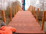 Bridge and modular pontoon JANSON CUSTOMIZED SOLUTIONS - JANSON BRIDGING ITALIA