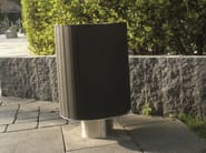 Outdoor waste bin LIFT - PAVESMAC