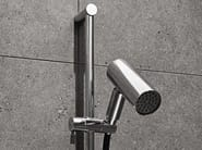 Wall-mounted stainless steel handshower with shower wallbar BOMBO | Handshower with shower wallbar - mg12