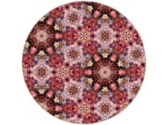 Patterned round rug FESTIVAL INFERNO - Moooi©