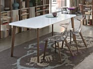 Rectangular crystal table OSLO | Rectangular table - CIACCI