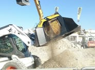 Accessories for construction site machinery SCREENING BUCKET MB-LS140 - MB