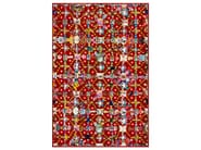 Patterned rectangular rug OBSESSION RED - Moooi©