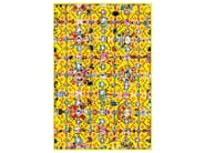 Patterned rectangular rug OBSESSION YELLOW - Moooi©
