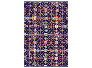 Patterned rectangular rug OBSESSION BLUE - Moooi©