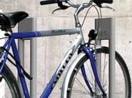 Steel Bicycle rack SILVER - Metalco