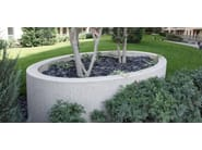 Reconstructed stone Flower pot ELLI - Metalco