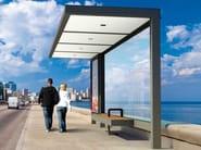 Steel porch HUT - Metalco