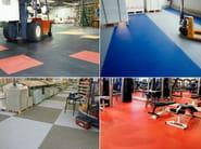 Synthetic material industrial flooring GTI - GERFLOR