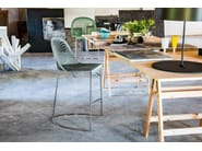 Counter stool with footrest GUAPA | Counter stool - Midj