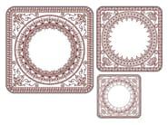 Square wall-mounted mirror DAMASCO - Calligaris
