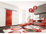 Motorised system for sliding doors NAVILIGHT - Glassolutions