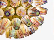 LED blown glass pendant lamp CANDY - SPHERE CHANDELIER - Lasvit