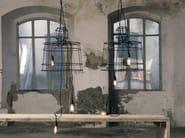 Painted metal pendant lamp SISMA | Pendant lamp - Karman