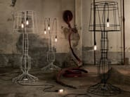 Metal floor lamp SISMA | Floor lamp - Karman