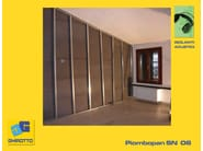 Sound insulation and sound absorbing felt with lead-laminate PIOMBOPAN SN 06 - GHIROTTO TECNO INSULATION
