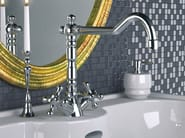 Countertop chromed brass washbasin tap REVIVAL | Chromed brass washbasin tap - Daniel Rubinetterie