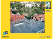 Ventilated roof system AIRVENT 28 - GHIROTTO TECNO INSULATION