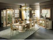 Wooden living room table LEONARDO | Table - Arredoclassic