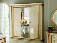 Mirrored wooden wardrobe MELODIA | Mirrored wardrobe - Arredoclassic