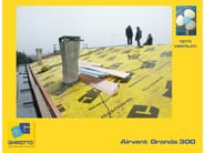 Ventilation grille and part AIRVENT GRONDA 300 - GHIROTTO TECNO INSULATION