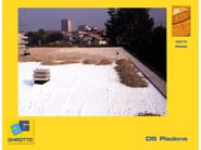 Roof garden system DS PIEDONE - GHIROTTO TECNO INSULATION