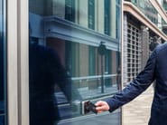 Automated door system PEOPLE FLOW INTELLIGENCE SOLUTIONS - KONE