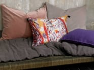 Rectangular silk cushion with removable cover DIVINA | Cushion - Élitis