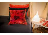 Rectangular velvet cushion with removable cover EURYDICE - Élitis