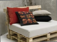 Square linen cushion with removable cover EPHES - Élitis