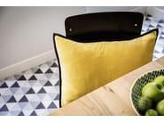 Rectangular velvet cushion with removable cover ORPHEE - Élitis
