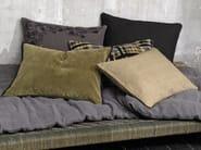Rectangular linen cushion with removable cover SAMA - Élitis