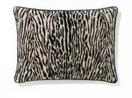 Rectangular linen cushion with removable cover TIGER - Élitis