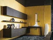 Wall cabinet with integrated lighting MAORI | Bathroom cabinet with integrated lighting - Cerasa