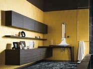 Suspended bathroom cabinet MAORI | Wall cabinet - Cerasa