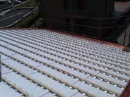 Ventilated roof system STIROSTAMP VENTILATO - BIOISOTHERM