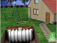 System for garden irrigation / Rainwater recovery system IRRIGA PLUS - Redi