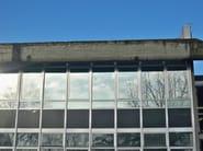 Shatterproof window film Safety and security window film - TOPFILM