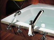4 hole bathtub tap with hand shower MADISON | 4 hole bathtub tap - Dornbracht