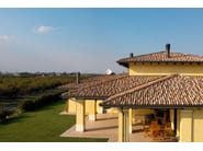 Cement roof tile Greece bent roof tile - MONIER