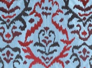 Fabric with graphic pattern for curtains BUKARA - Dedar