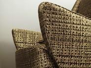 Solid-color jacquard fabric for curtains OROCOLATO - Dedar