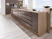 Lacquered kitchen LUX 828 - Nobilia-Werke
