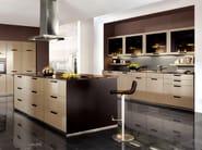 Lacquered kitchen with island XENO 660 - Nobilia-Werke