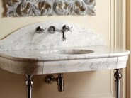 Washbasin to console marble PALACE - Devon&Devon
