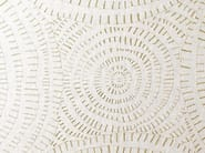 Washable fabric with graphic pattern for curtains CIRCLES - Dedar