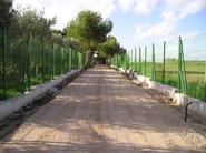 Glass-fibre Fence FIBREFENCE | On-site assembled fence - FIBRE NET