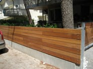 Decking in wood, PVC, and concrete GARAPA - Ravaioli Legnami