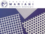 Pierced and stretched sheet metal METALLIC MESH - Fratelli Mariani