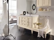 Single wooden vanity unit YORK 10 | Vanity unit - Cerasa
